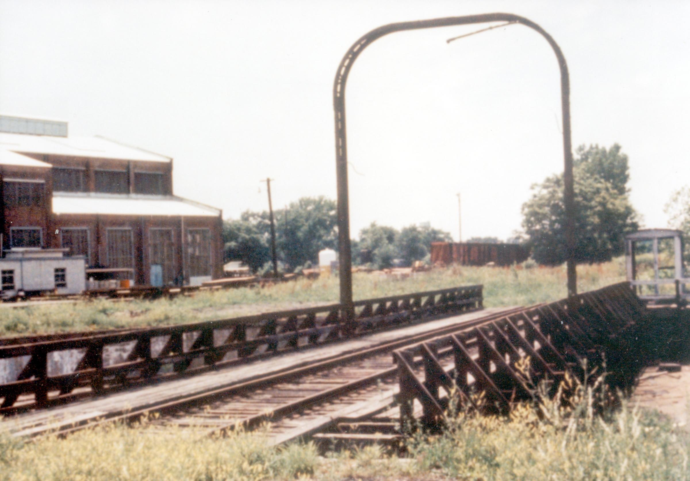 Mt  Carmel Railroad Yard in Mt  Carmel, IL